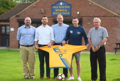 All change at Old Newton FC as Ager aims to buck the trend of some non-league clubs